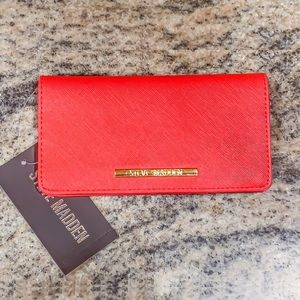 Steve Madden BFLIP Wallet - Red